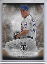 2015 Triple Threads GREG MADDUX GOLD PARALLEL BASE CARD #67/99 CHICAGO CUBS!