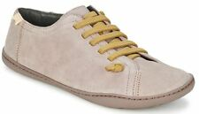 Camper Peu Cami 20848 Grey Womens Leather Lo Trainers Shoes