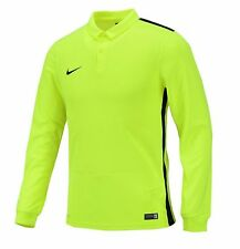 NIKE Dri Fit Soccer Jersey Challenger L/S AUTHENTIC Football Sports Green Shirt