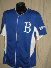 MLB Brooklyn Dodgers Cooperstown Collection Baseball Rivalry Jersey Mens Sizes