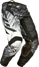 Fly Racing Kinetic Glitch Pants Black/Grey Motocross ATV Youth/Adult