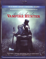 Abraham Lincoln: Vampire Hunter (Blu-ray/DVD, 2015, 2-Disc Set)