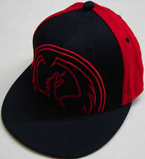 DRAGON RISE UP FLAT BRIM FLEXFIT HAT CAP BRAND NEW