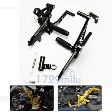 CNC Adjustable Rearset Foot Pegs For 2013-2016 2014 HONDA Grom MSX 125 US