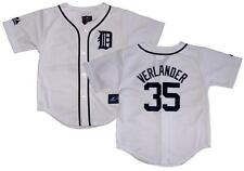 NWT Majestic Justin Verlander Detroit Tigers Toddlers 2T- 4T Replica Home Jersey