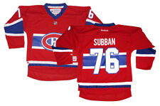 P.K. Subban Montreal Canadiens NHL Reebok Youth Replica Home Jersey