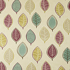 Clarke & Clarke Coco Heather Floral Curtain Upholstery Designer Fabric Washable