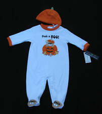 NWT:  Baby's First Peek A Boo Halloween Costume Pumpkin Hat, Infant 3-6 months