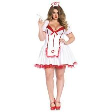 Sexy Nurse Costume Adult Outfit Halloween Fancy Dress