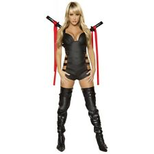 Sexy Ninja Girl Costume Adult Womens Kill Bill Halloween Fancy Dress