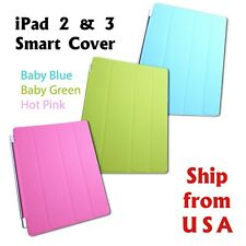 New Smart Stand Magnetic Slim Leather Case Cover For APPLE iPad 4 3 2  [lot]
