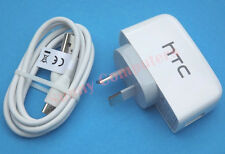 Original Genuine HTC One M7 Max Desire 610 816 310 601 USB Wall Charger + Cable