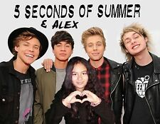 NEW 5 SoS DESIGN - Your picture on a T shirt with 5 Seconds of Summer! 5SoS