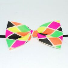 Harlequin Bow Tie Clown Costume Fancy Dress Adult Stage Kids World Book Day