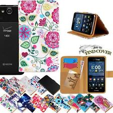 For Various Kyocera Hydro SmartPhones Leather Wallet Card Stand Flip Case Cover