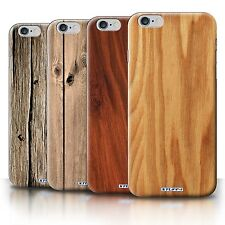 STUFF4 Back Case/Cover/Skin for Apple iPhone 6S+/Plus/Wood Grain Effect/Pattern