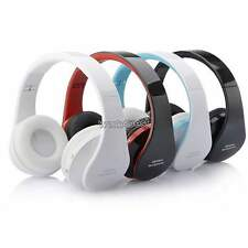 New Wireless Stereo Bluetooth Headphone Headset TF for Mobile Cell Phone Laptop