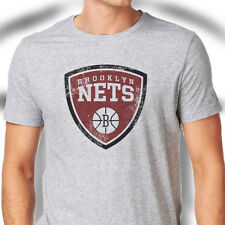 Brooklyn Nets American NBA professional basketball team Grey T-Shirt