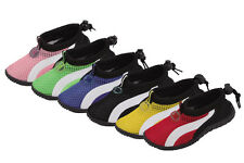 New Children Athletic Mesh Water Shoes Aqua Socks Pool and Beach Swim Shoes