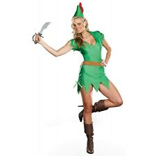 Pretty Peter Pan Storybook Costume Halloween Fancy Dress