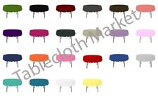 "10 Pack 108"" Inch round Polyester Tablecloth 24 COLOR Table Cover Wedding Party"