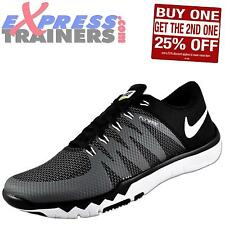 Nike Mens Free Trainer 5.0 V6 Premium Running Shoes Black *AUTHENTIC*