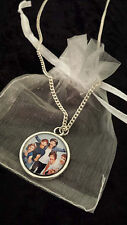 Necklace stocking filler 1D One Direction boy band birthday gift picture image