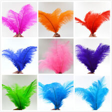 10-100pcs High Quality Natural OSTRICH FEATHERS 6-8''  Weddings birthdays