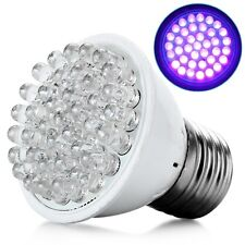 Ultra Bright E27 UV Ultraviolet Color Purple Light 38LED Lamp Bulb 110/220V 66