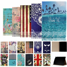 Luxury Painted Wallet Leather Case Cover For Apple Air 1/2 iPad Pro iPad Mini 3