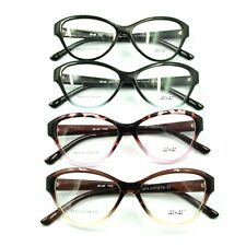 Womens Sexy Cat Eye Gradient Rim Eyeglasses Frame Rx Spectacles High Quality