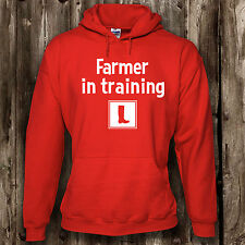 Learner Farmer Mens Womens Hoodie -- Farming Agriculture Clothing Hood
