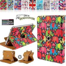 """Rotating Stand Wallet Leather Case Cover For Various ARCHOS 7"""" 8"""" inch Tablets"""