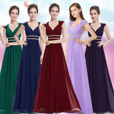 Ever Pretty Women's Bridesmaid Long Formal Evening Party Gown Prom Dress 08697