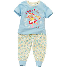 Baby Toddler Girls In The Night Garden Upsy Daisy Cotton Short Sleeve Pyjamas