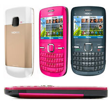 Original Nokia C Series C3-00 Bluetooth FM JAVA 2MP Unlocked WIFI Mobile Phone