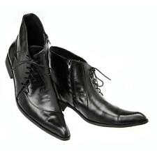 US Size 7-12 Black Leather Lace Up Formal Dress Ankle Boots Mens Fashion Shoes