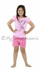 Pyjamas Girls Summer (size 4) Short Pjs Set Pink Princess Sz 3 4 5 6 7