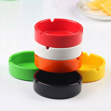 Thickened Circular Office Interior Smokeless Cigarette Melamine Ashtray Holder
