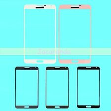 Front Outer Lens Touch Glass / Sticker Adhesive For Samsung Galaxy Note 3 N9000