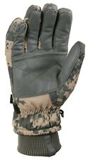 ACU Digital Camo Military Waterproof Cold Weather Gloves Rothco 3669