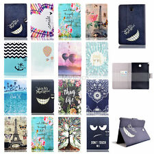 Vogue Design Wallet Leather Flip Case Cover For Samsung Galaxy Tab 3 4 A E S/S2
