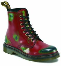 Original Classic Doc Dr Martens 8-hole 1460 Pascal Red Green Navy 13774600