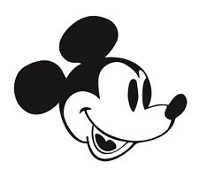 Mickey Mouse Sticker / Decal - Choose Size & Color - Disney, Disneyana