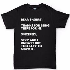 Dear T-shirt Sexy and I Know It Funny New Gift T shirt Tee Top
