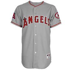 2015 Los Angeles Anaheim Angels Authentic On-field Gray Road Jersey Men's