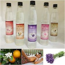 LAVENDER COCONUT LOTUS SCENT BODY MASSAGE OIL HOME SPA AROMATHERAPY 100ml