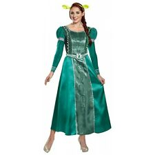 Deluxe Fiona Costume Shrek Halloween Fancy Dress