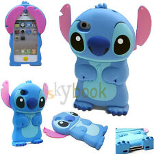 Soft 3D Pop Cartoon Despicable Me MINIONS Silicone Case Cover For iPhone 4 5 6