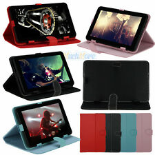 """Universal Leather Flip Case Cover Skin For 9"""" Android Tablet Reader EPAD 4 Color"""